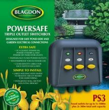 Blagdon Power Safe 3 Switch Box